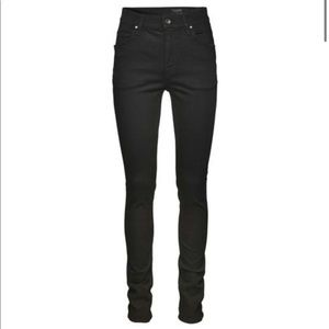 NWOT Tiger of Sweden Black High Waisted Jeans